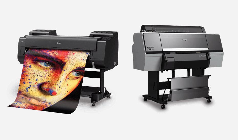 Epson vs Canon Pro Printers